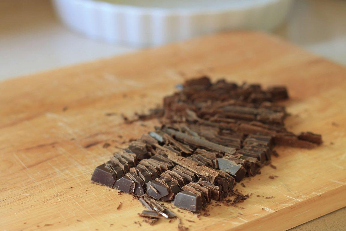 טארט שוקולד ללא קראסט