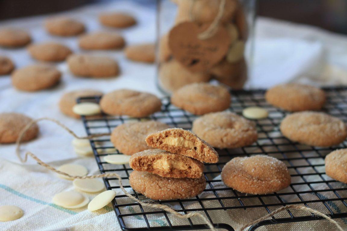 עוגיות חמאת בוטנים ושוקולד לבן