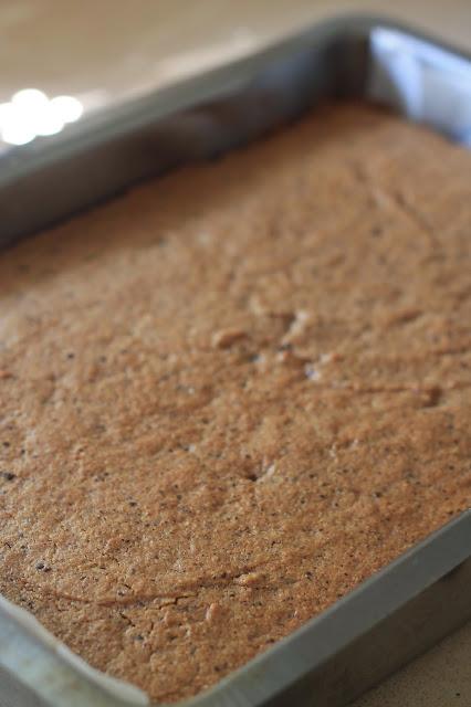 עוגת אגוזי לוז ושוקולד מריר
