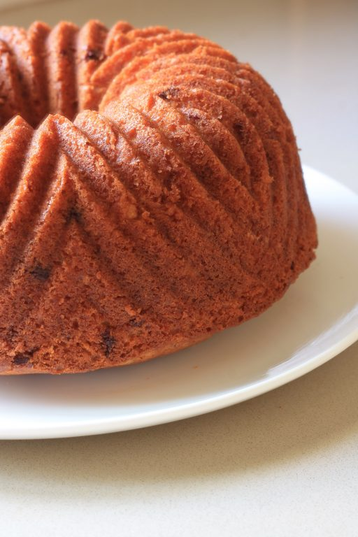 עוגת תפוזים ושוקולד חלב