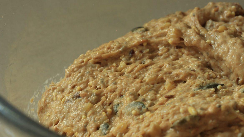 לחם זרעים וגרעינים