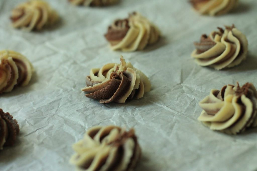 עוגיות חמאה נמסות