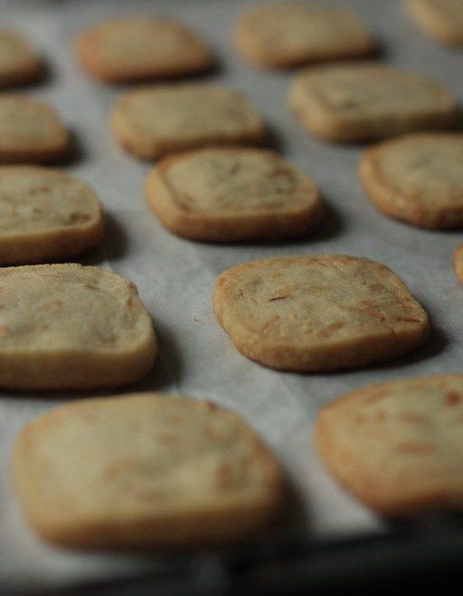 עוגיות שקדים ווניל