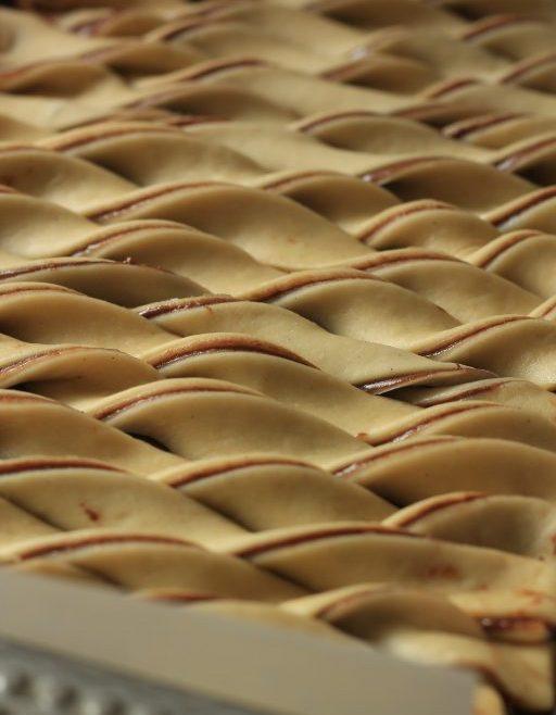 מקלות בבקה במילוי שוקולד