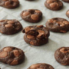 עוגיות שוקולד צ'יפ ללא קמח