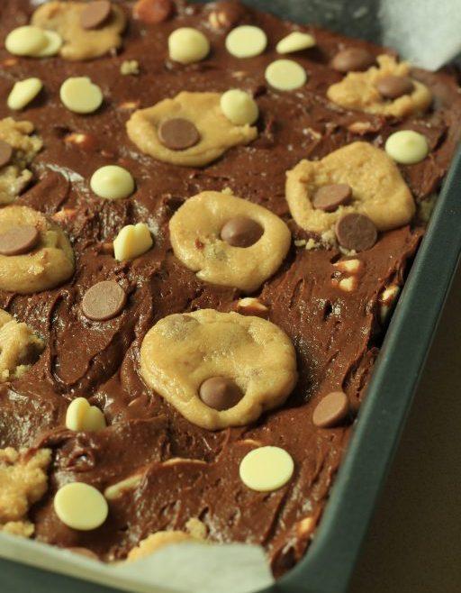 בראוניז עוגיות שוקולד צ'יפ