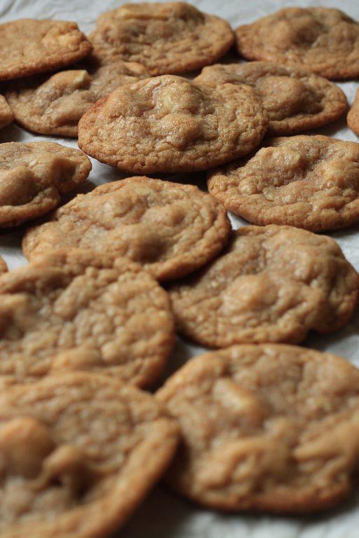 עוגיות מקדמיה שוקולד לבן