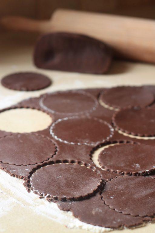 אוזני המן שוקולד - קוקוס