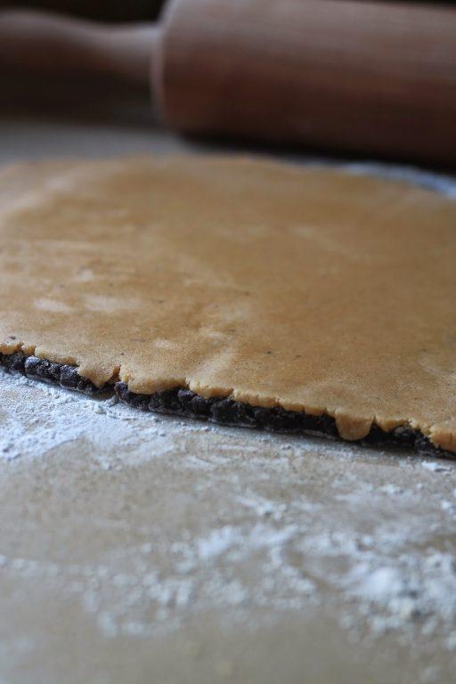 עוגיות ספירלה שוקולד - חמאת בוטנים