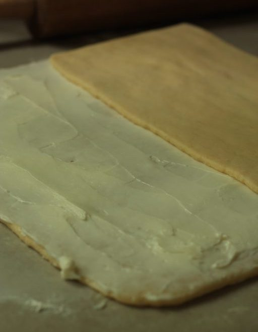 דניש במילוי גבינת שמנת ושקדים