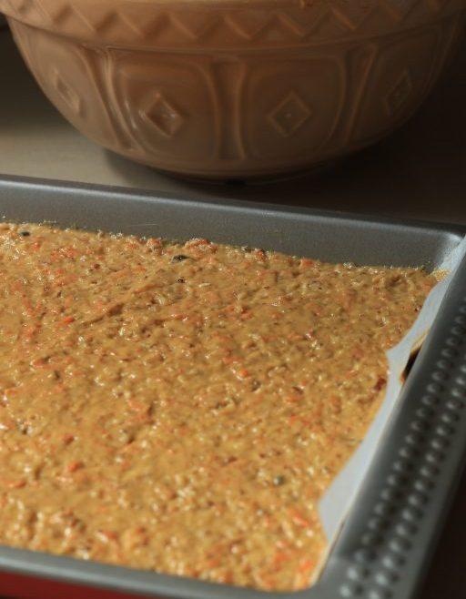 ריבועי עוגת גזר