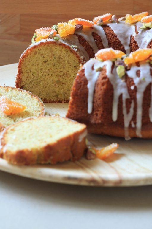 עוגת קלמנטינה - פיסטוק