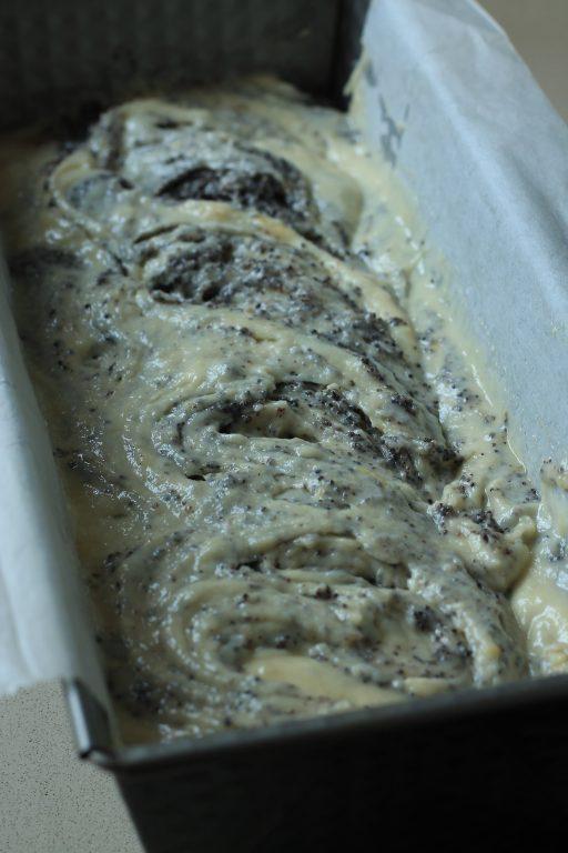 עוגה בחושה פרג שקדים