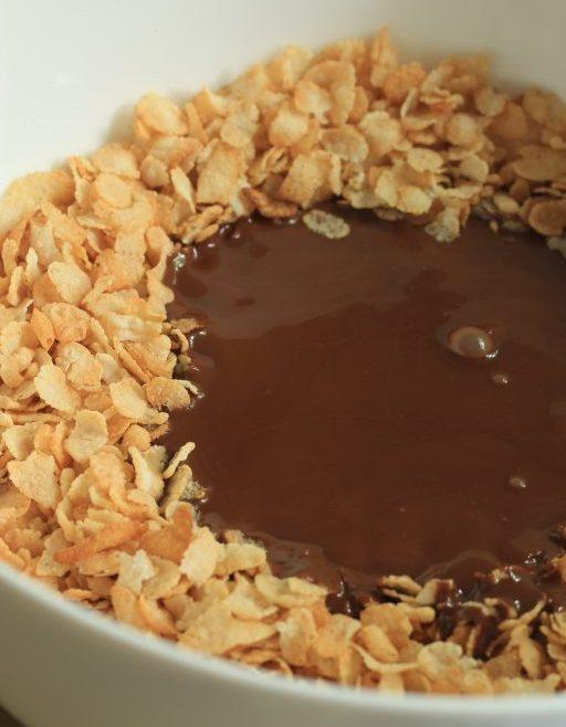 חטיף שוקולד פצפוצי אורז ללא גלוטן
