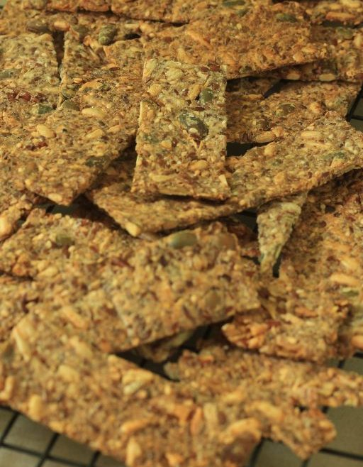 קרקר זרעים וגרעינים ללא גלוטן