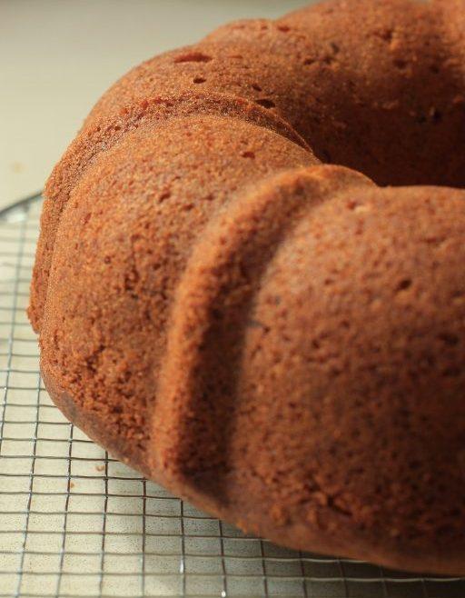 עוגת אוכמניות ושקדים