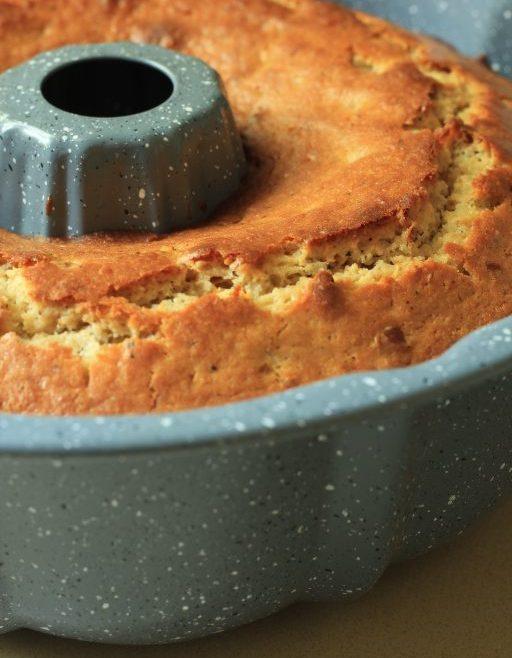 עוגת דבש, חמאה חומה ופקאן