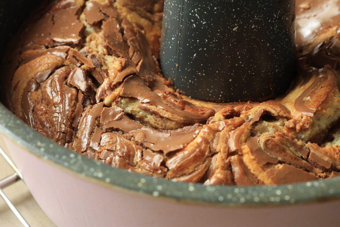 בחושה מוקה, שקדים ושוקולד