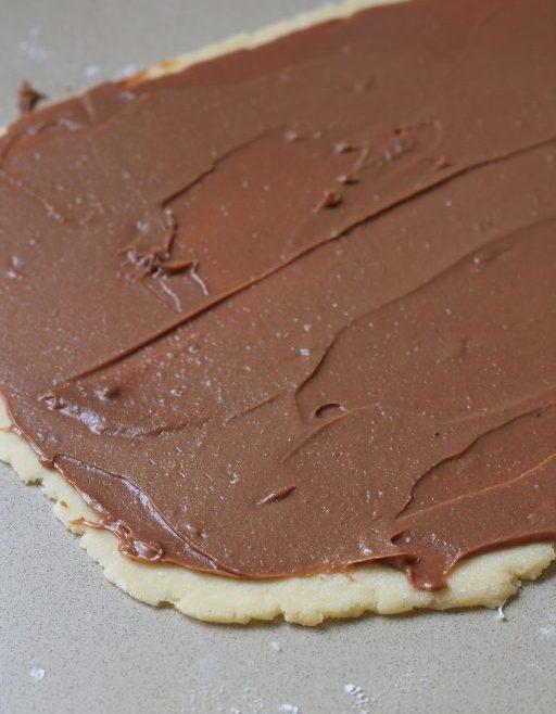 מגולגלות שוקולד וגבינת שמנת