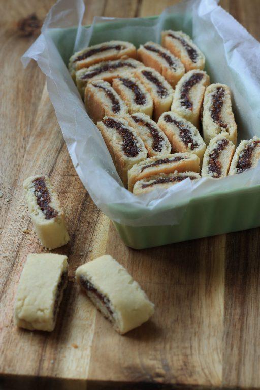 עוגיות תאנים מיובשות